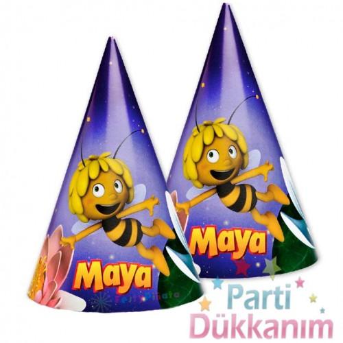 Arı Maya Parti Şapkası (6 Adet)