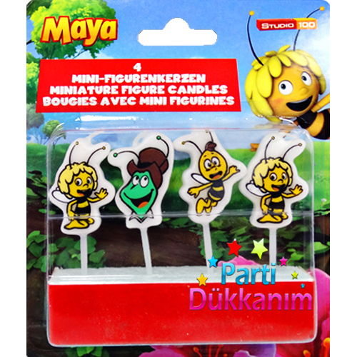Arı Maya Pasta Mumu (4 adet)