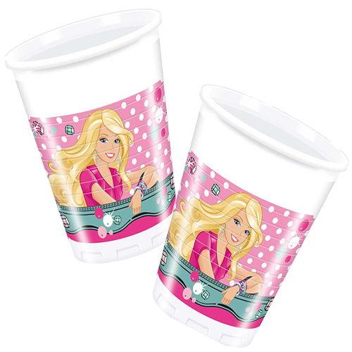 Barbie Bardak Elegante (8 adet)