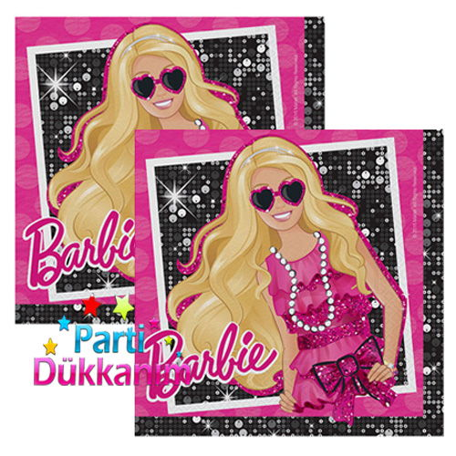 Barbie KlasikPeçete (16 adet), fiyatı