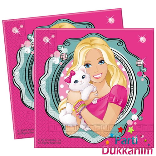 Barbie Peçete Elegante (16 adet)