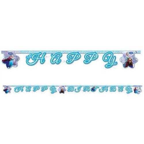 Frozen Happy Birthday Banner (2 m.), fiyatı