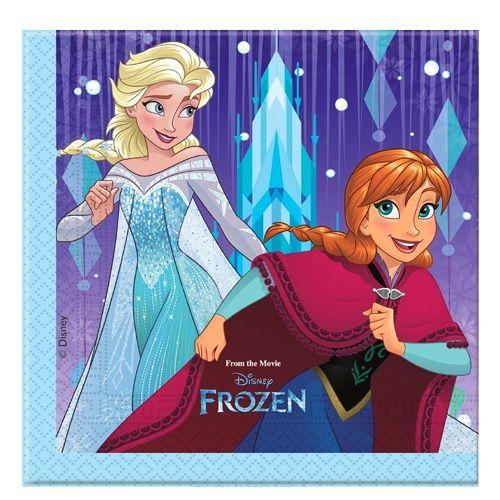 Frozen Snowflakes Peçete (20 Adet), fiyatı