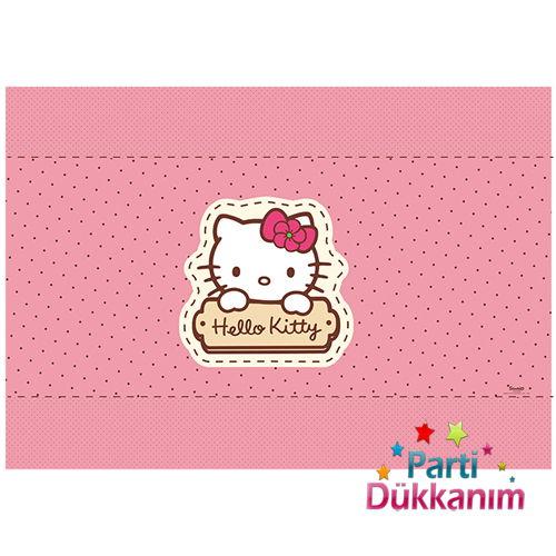 Hello Kitty Amerikan Servis (6 adet)