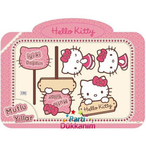 Hello Kitty Fotoğraf Çekme Hatıra Çerçevesi (60x90 cm)