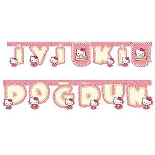 Hello Kitty İyi ki Doğdun Yazısı (16*171 cm.), fiyatı