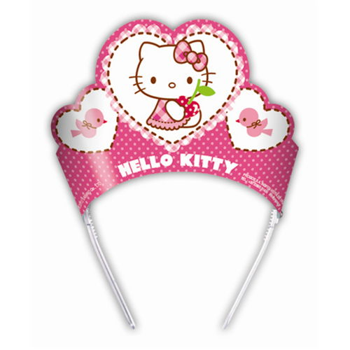 Hello Kitty Taç (6 adet)
