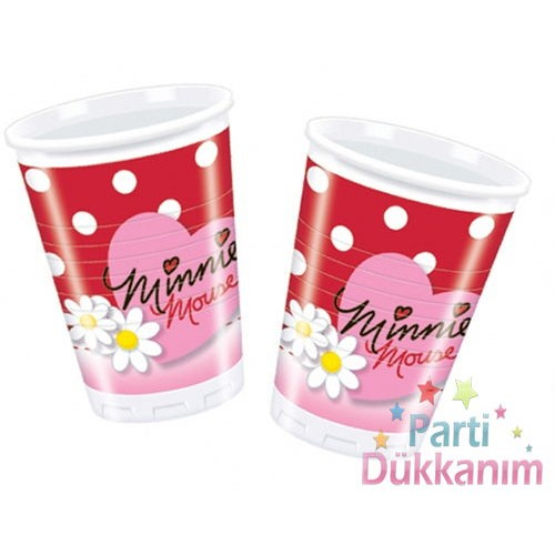 Minnie Mouse Bardak Daisies (10 adet)