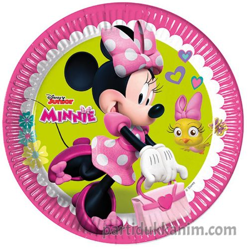 Minnie Mouse Happy Helpers Tabak (8 adet)