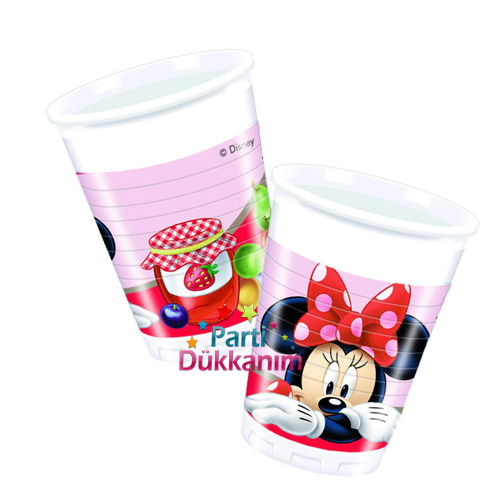 Minnie Mouse JAM Bardak (8 Adet), fiyatı