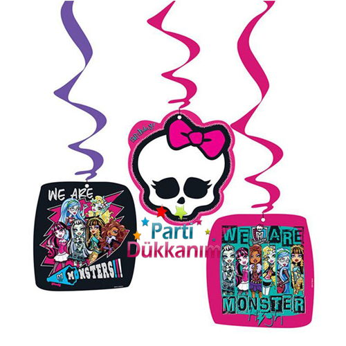 Monster High Asma Süs (3 lü)