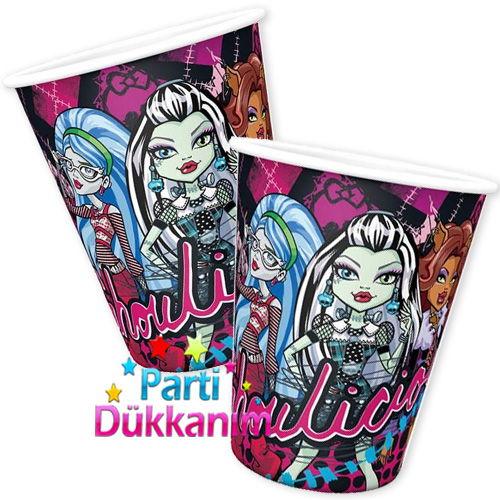Monster High Karton Bardak (8 adet)