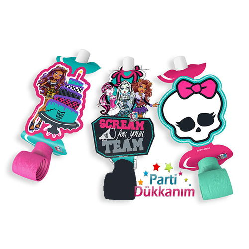 Monster High Kaynanadili (6 Adet)