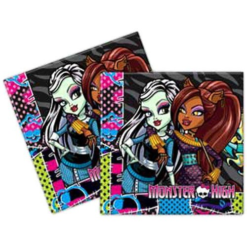 Monster High Peçete (20 adet)