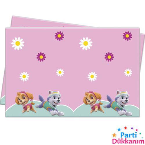 Paw Patrol Pink Masa Örtüsü 120*180 cm, fiyatı