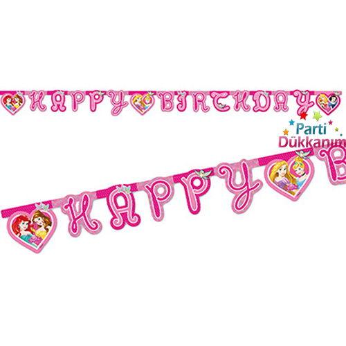 Prensesler Dreaming Happy Birthday Yazısı 2 metre, fiyatı