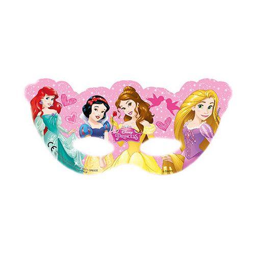 Prensesler Parti Maskesi (6 Adet)