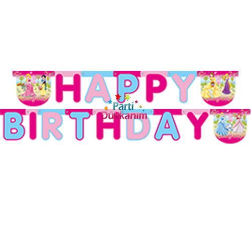 Prenses Happy Birthday Yazısı 2 metre