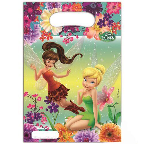 Tinkerbell Fairies Hediye Çantası (17x23 cm) 6 Adet, fiyatı