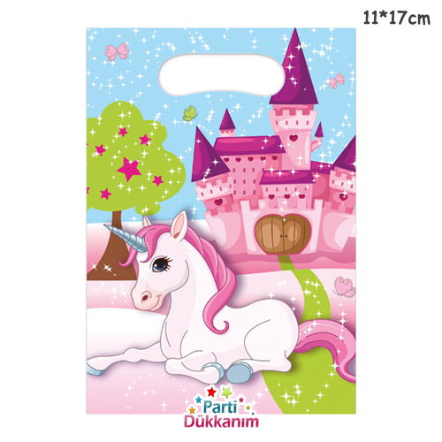 Unicorn Hediye Çantası 6 adet, fiyatı