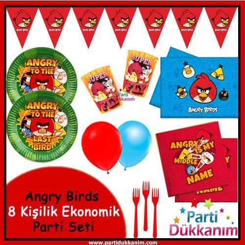 Angry Birds 8 Kişilik Süper Set, fiyatı