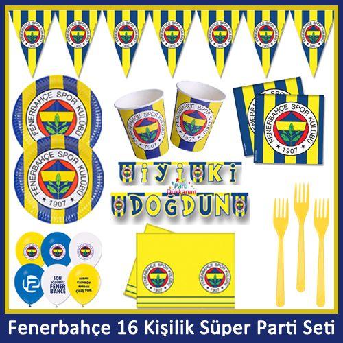 Fenerbahçe 16 Kişilik Süper Parti Seti
