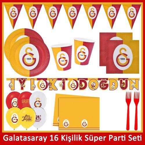 Galatasaray 16 Kişilik Süper Parti Seti