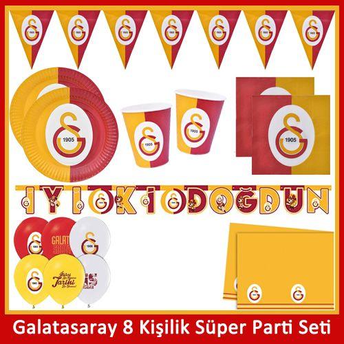 Galatasaray 8 Kişilik Ekonomik Parti Seti