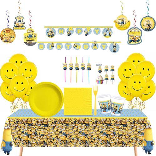 Minions Full Parti Seti 24 Kişilik
