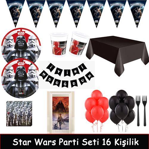 Star Wars Ekonomik Parti Seti 16 Kişilik, fiyatı