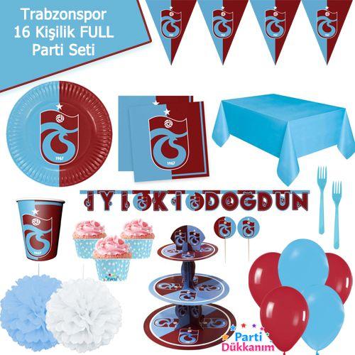 Trabzonspor 16 Kişilik FULL Parti Seti, fiyatı