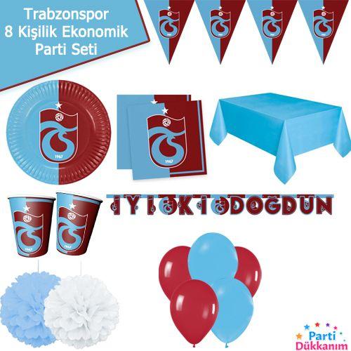 Trabzonspor 8 Kişilik EkonomikParti Seti, fiyatı