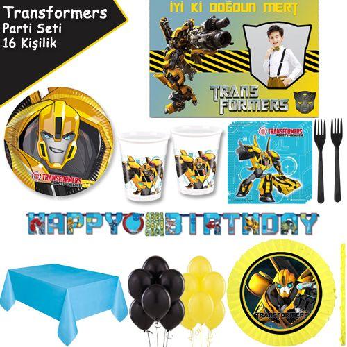 Transformers Ekonomik Parti Seti (16 Kişilik)