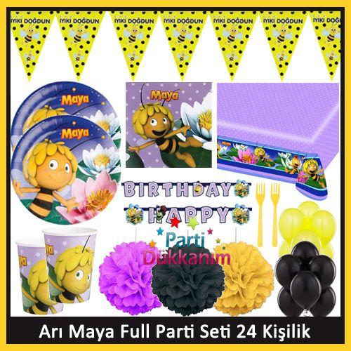 Arı Maya Full Parti Seti (24 Kişilik), fiyatı