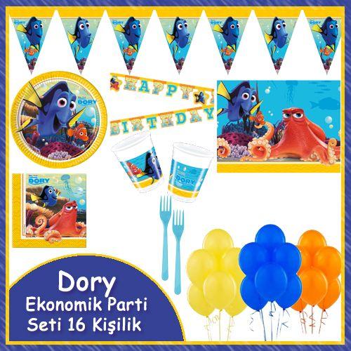 Dory Ekonomik Parti Seti (16 Kişilik)