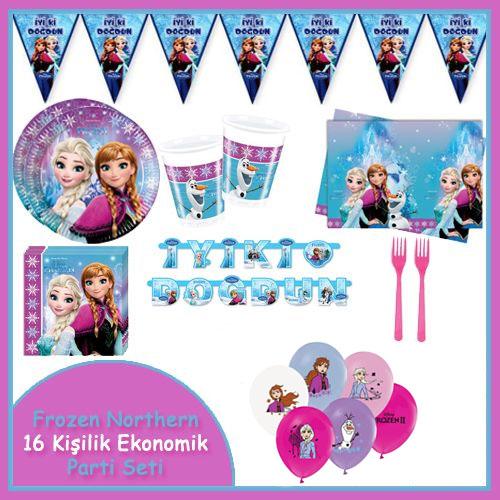 Frozen Northern Ekonomik Parti Seti (16 kişilik)