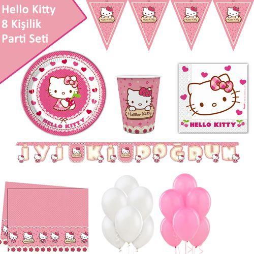 Hello Kitty Ekonomik Parti Seti (8 Kişilik), fiyatı