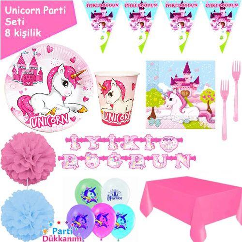 Unicorn 8 Kişilik Parti Seti, fiyatı