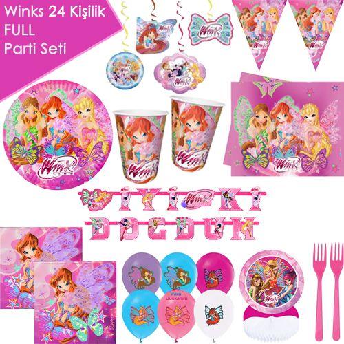 Winks Full Parti Seti 24 Kişilik, fiyatı