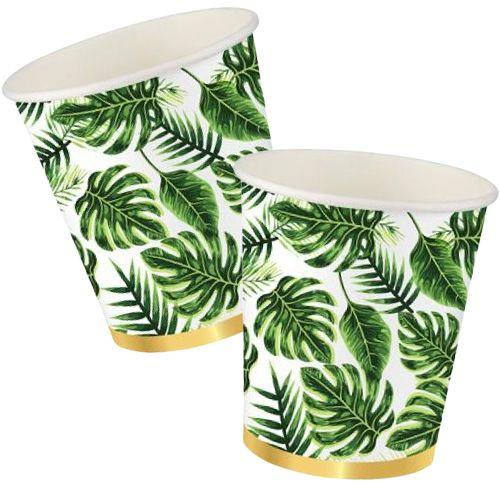 Tropikal Yapraklar Bardak (8 adet), fiyatı