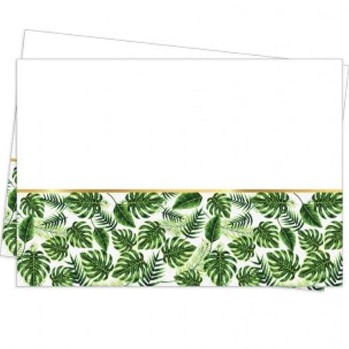 Tropikal Yapraklar Masa Örtüsü (120x180 cm), fiyatı
