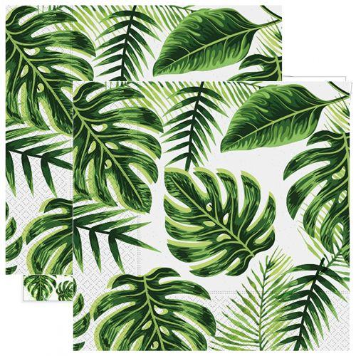 Tropikal Yapraklar Peçete (20 adet)