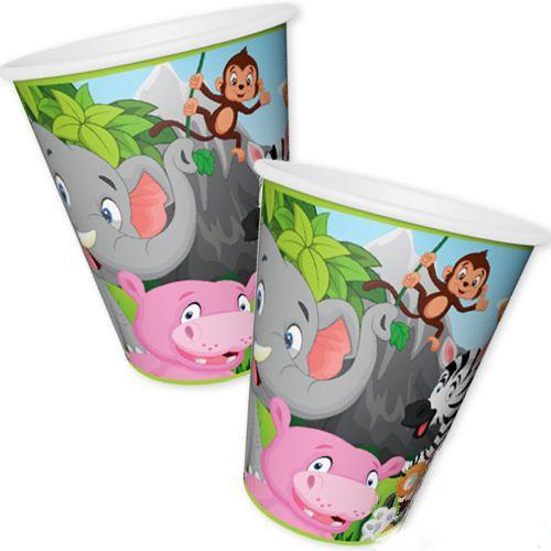 Safari Mutlu Hayvanlar Bardak (8 adet), fiyatı