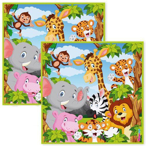 Safari Mutlu Hayvanlar Peçete (16 adet), fiyatı