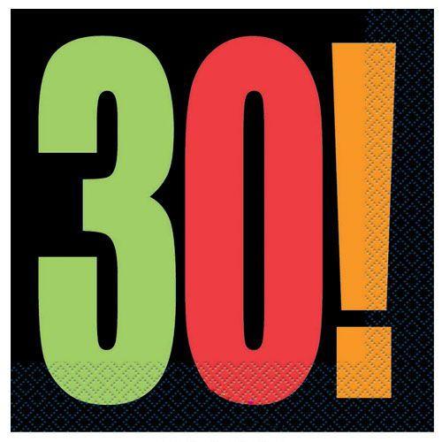 Birthday Cheer 30 Yaş Peçete (16 adet)