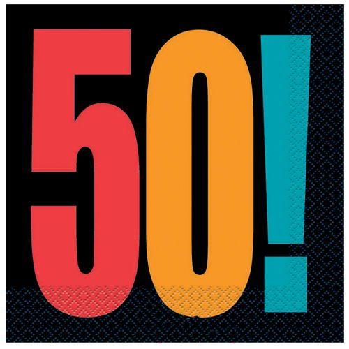 Birthday Cheer 50 Yaş Peçete (16 adet)