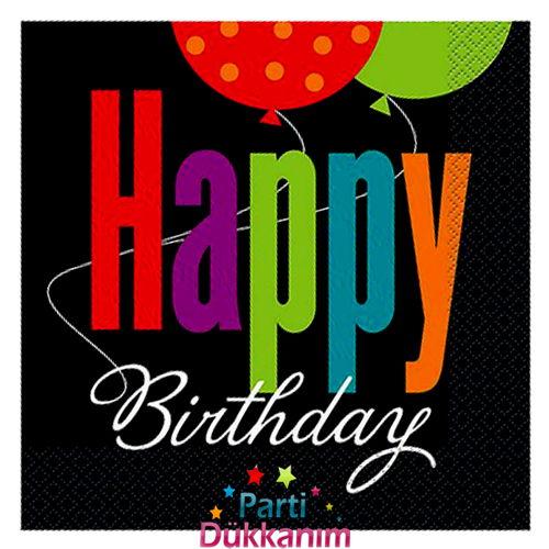 Birthday Cheer Peçete (16 adet)