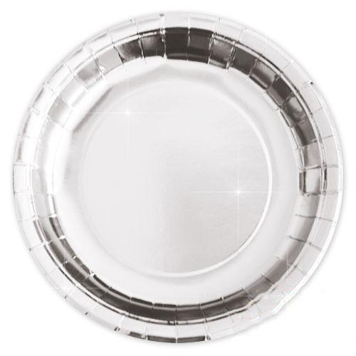 Metalize Gümüş Tabak (8 adet), fiyatı