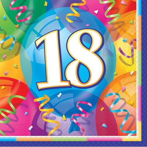 18 Yaş Peçete (16 Adet)
