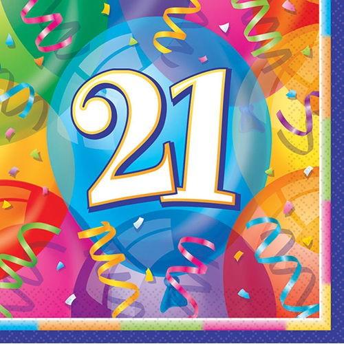 21 Yaş Peçete (16 adet)